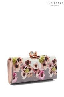 Ted Baker Ivory Floral Clutch Bag