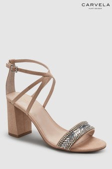 Carvela Pale Pink Gita Heeled Sandal