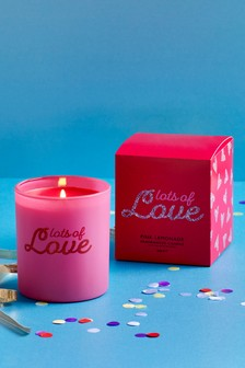 Pink Lemonade Lots Of Love Candle