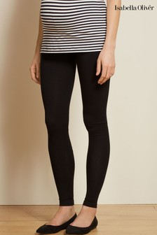 Isabella Oliver Black Easy Maternity Legging