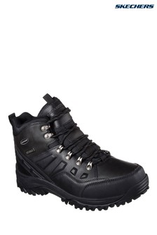 Skechers® Black Relment Traven Boot