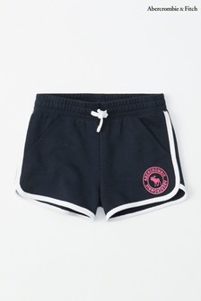Abercrombie & Fitch Navy Core Short