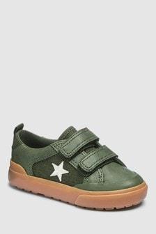 נעליים עם שתי רצועות (צעירים)