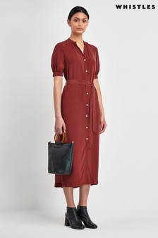 Whistles Dana Shirt Dress