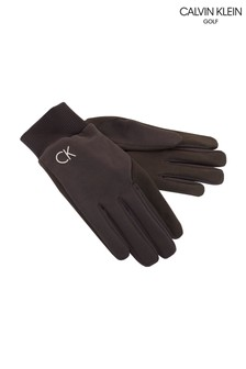 Calvin Klein Golf Black Winter Gloves