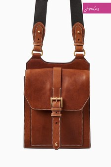 Joules Tan Stratford Leather Bag