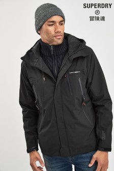 Superdry Black Hydro Jacket