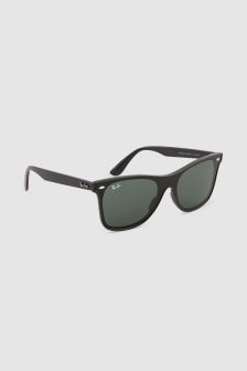 Ray-Ban® Black Blaze Wayfarer Sunglasses