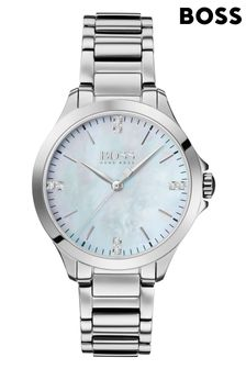 BOSS Diamonds For Her Stainless Steel Watch