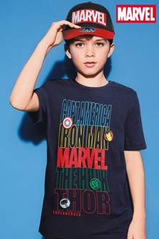 Marvel® T-Shirt mit Logo (3-16yrs)