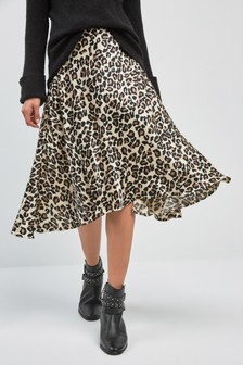 839057b8e5 Animal Print Skirts | Leopard Midi, Mini & Printed Skirts | Next Ireland