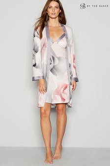 B by Ted Baker Grey Jersey Print Kimono 68d8994d9