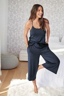 Lace Culotte Pyjamas