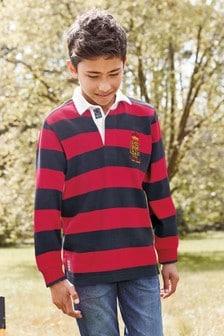 Stripe Rugby Shirt (3-16yrs)