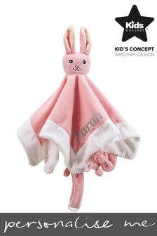 Personalised Bunny Comforter by Sweden Concepts