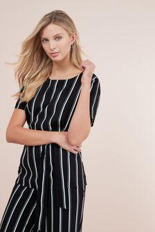 b17be89b9230ea Buy Women s tops Tops Tieside Tieside from the Next UK online shop