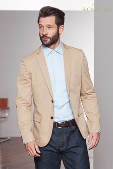 Signature Deconstructed Slim Fit Larusmiani Blazer