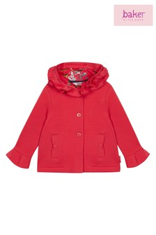 baker by Ted Baker Toddler Girls Raspberry Jacket