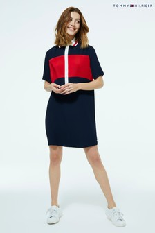 Tommy Hilfiger Colourblock Polo Dress