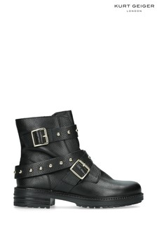 Kurt Geiger London Black Stinger Boots
