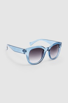 Preppy Clear Sunglasses