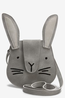 Cross Body Rabbit Coin Purse