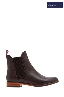 Joules Brown Bourne Leather Chelsea Boot