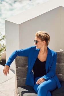 Emma Willis Relaxed Single Breasted Jacket