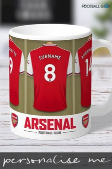 Personalised Arsenal Mug by Personalised Football Gifts