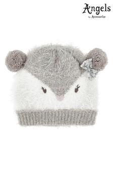 Angels by Accessorize Grey Peggy Penguin Beanie