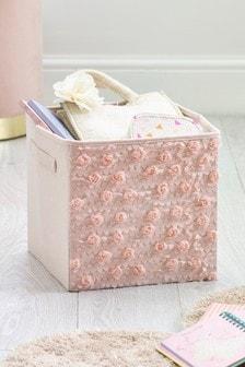 Rose Ruffle Storage Box