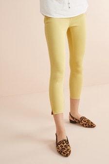 Jersey-Leggings in Cropped Fit