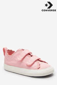 Converse Infant Wash Frill Chuck Velcro 2 Trainer