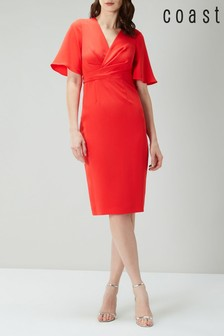 Coast Red Kiro Kimono Dress