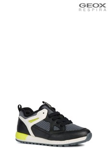 Geox Black J Alben Shoe