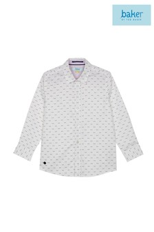 baker by Ted Baker Younger Boy Long Sleeved Shirt