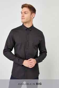 Stretch Royal Oxford Long Sleeve Shirt
