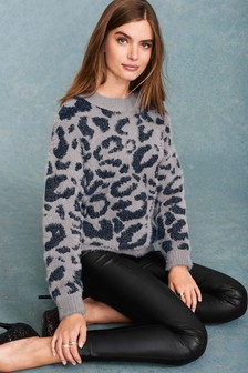 Statement Animal Sweater