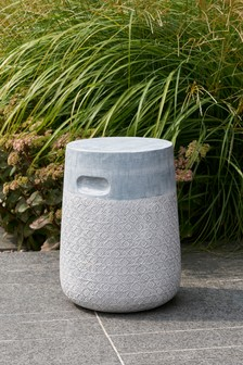 Cement Side Table Stool