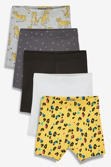 Animal Shorts Five Pack (3mths-7yrs)