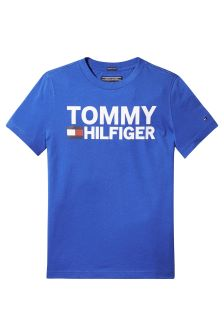 Tommy Hilfiger Blue Graphic Tee