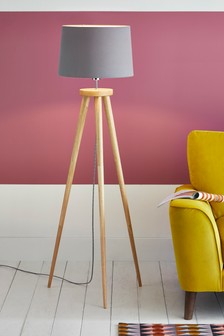 Floor Lamps Tripod Amp Led Floor Lights Next Official Site