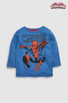 Long Sleeve Spider-Man™ T-Shirt (3mths-6yrs)