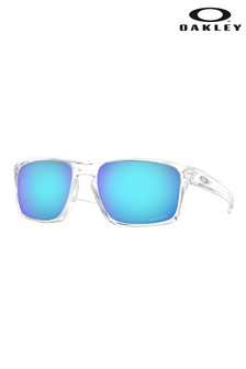 Oakley® Clear Blue/Sliver Sunglasses