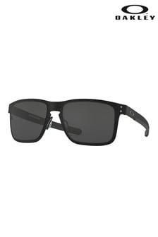 Солнцезащитные очки в черной металлической оправе Oakley® Holbrook