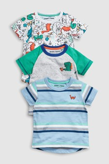 Dinosaur T-Shirts Three Pack (3mths-7yrs)