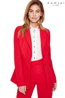 Damsel In A Dress Red Isabella City Suit Jacket