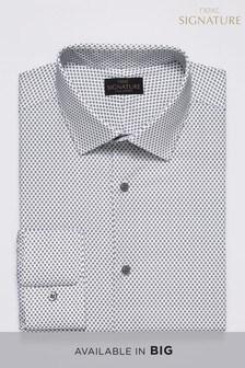 Фирменная рубашка с геометрическим принтом
