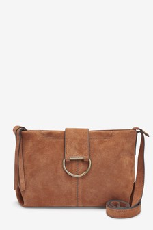 Suede Across-Body Bag d42826e882e42