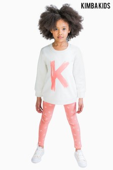 Kimba Kids by Kimberley Walsh K Logo Sweat